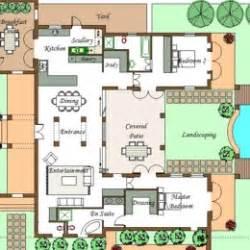 U Shaped Floor Plans With Pool U Shaped House Plan Cape Architect Company