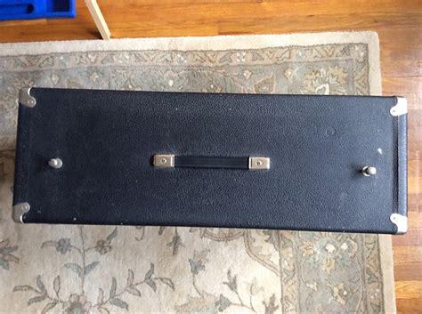 vintage fender 2x12 cabinet vintage 1965 fender 2x12 bandmaster speaker cabinet reverb