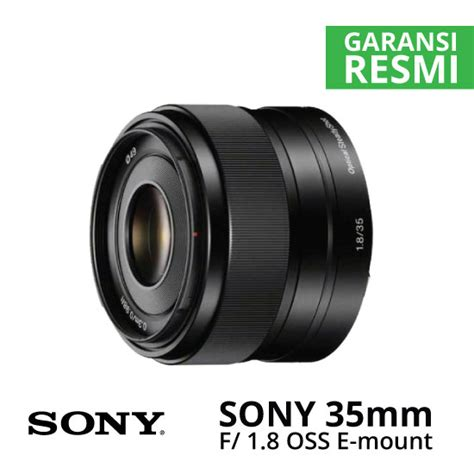 Sony E 50mm F 1 8 Oss Lensa Kamera jual sony 35mm f 1 8 oss alpha e mount prime harga dan