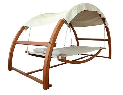hammock swing bed swing bed with canopy turns ordinary garden into sumptuous