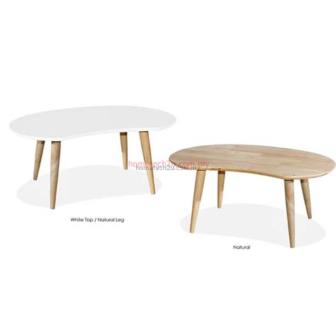 Bean Shape Coffe Table Peanut Coffee Table Wooden Coffee Bean Table