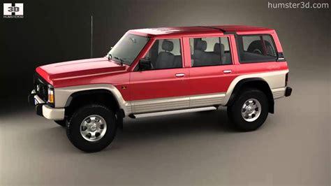 nissan 1987 models nissan patrol y60 5 door 1987 by 3d model store
