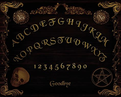 printable ouija board digital printables free ouija board printable