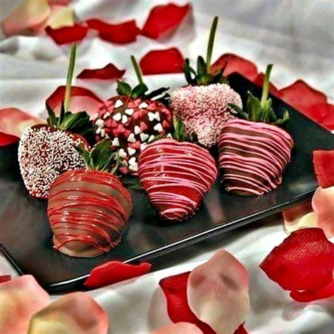 chocolate covered strawberries food ideas pinterest
