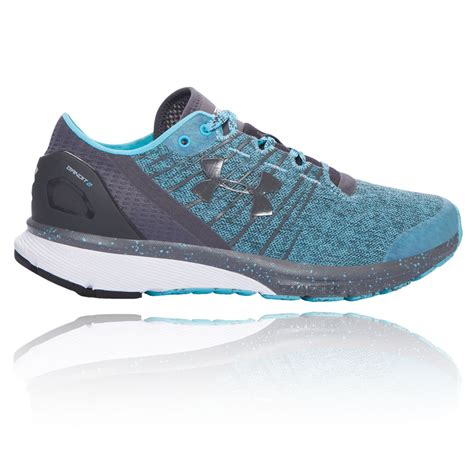 armour athletic shoes armour charged bandit 2 womens blue black sneakers
