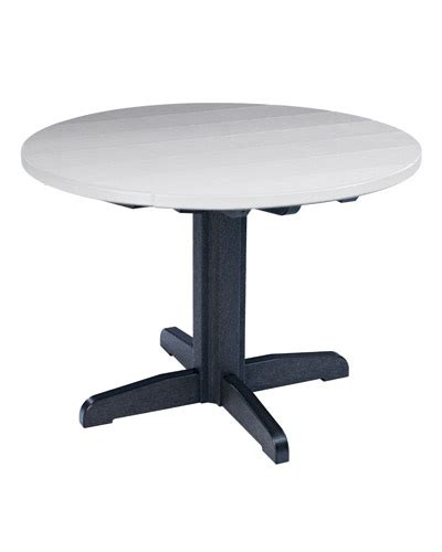 cr plastic products tb12 29 quot dining pedestal base only