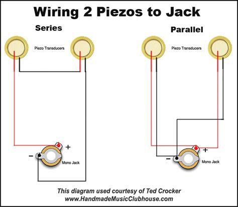 piezo wiring diagrams