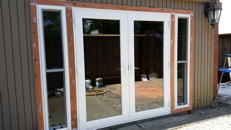 swing door installation french door installation in santa cruz