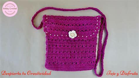 crochet paso a paso bolso a crochet paso a paso