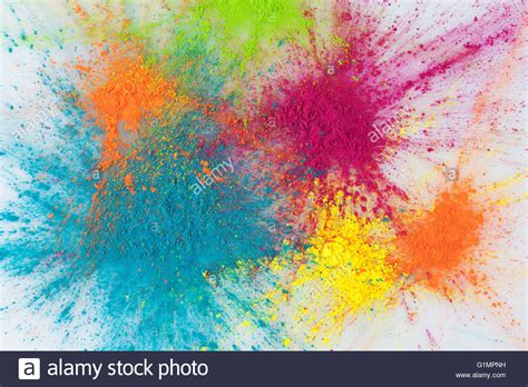 explosion of colors color explosion concept colorful holi powder exploding on