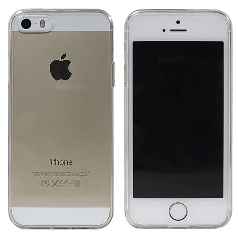 Cover Iphone 5s luvvitt clearview slim clear back with bumper for iphone 5 5s ebay