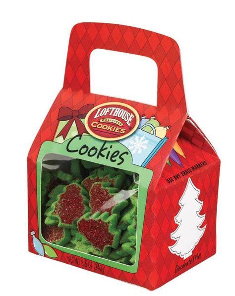 lofthouse holiday trees cookies gift box lofthouse