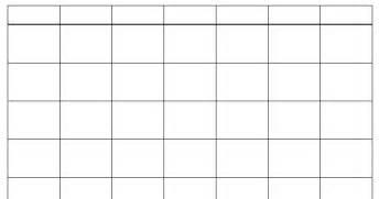 calendar grid template blank monthly calendar 2016 printable calendar template 2016