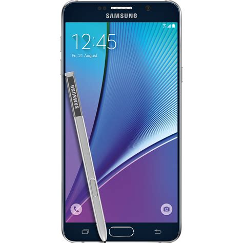5 Samsung Galaxy Note by Samsung Galaxy Note 5 Sm N920g 32gb Sm N920g 32gb Black B H