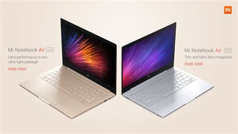 Xiaomi Mi Notebook Air 12 5 Inch Slim Original New 100 Bergaransi xiaomi s laptop the mi notebook air is thinner and lighter than apple s costs 750
