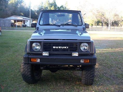 Suzuki Sidekick Diesel Find Used Suzuki Samurai 4x4 Diesel In Lecanto Florida
