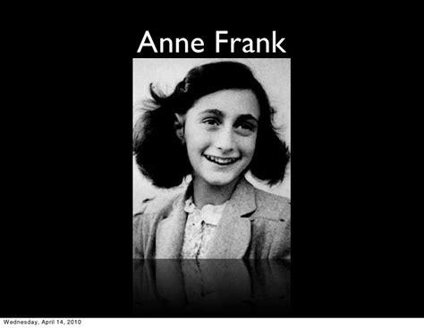 anne frank biography ppt anne frank