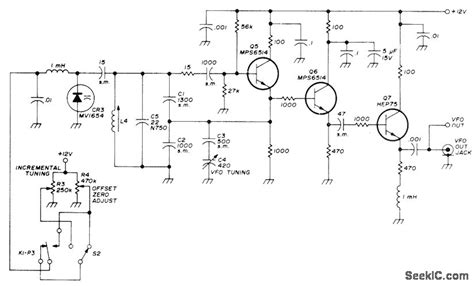 varactor oscillator circuit varactor diode vfo 28 images capacitance how to properly connect and drive varicap diodes