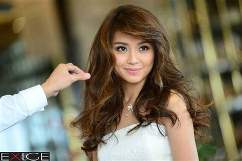 katrine bernardor hair color kathryn bernardo hair by john valle rapunzel pinterest