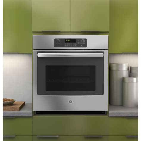 build wall oven jk3000sfss ge 27 quot built in single wall oven
