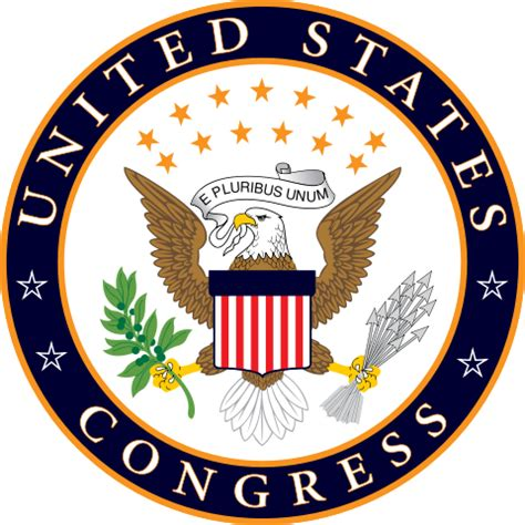 Us House Of Representatives Logo File Us Congress Unofficialseal Svg Wikimedia Commons