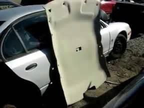 automotive headliner removal