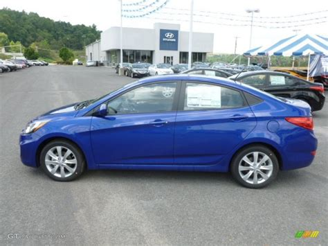 Blue Hyundai Accent by Hyandi Accent Blue Line Tinyteens Pics
