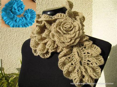 bufandas crochet 2016 24 maravillosas bufandas en crochet con diagramas