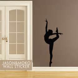 ballerina wall decal ballerina wall sticker mural