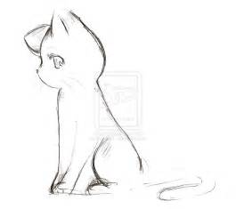 anime cat sketch by nyra992 on deviantart