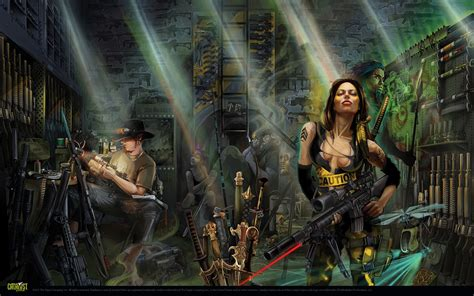 rulebooks shadowrun 5 wallpapers shadowrun 5 sci fi