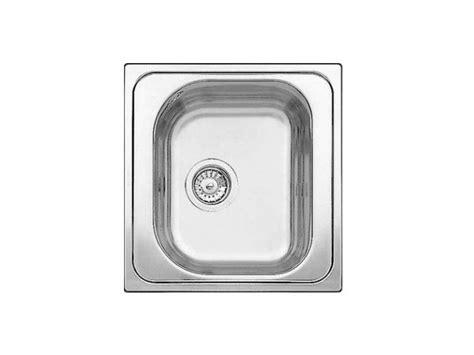 lavello incasso una vasca lavello a una vasca da incasso in acciaio inox blanco tipo