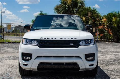 land rover white stormtrooper white range rover sport by ultimate auto