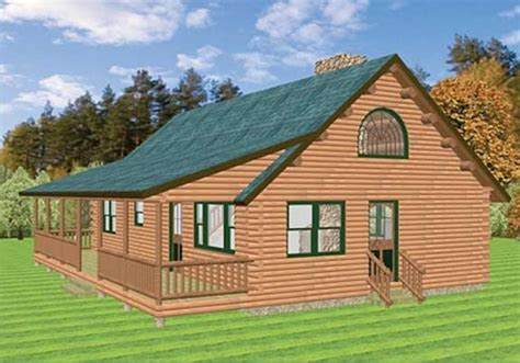 laurel a log home plan by katahdin cedar log homes