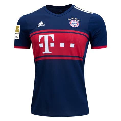Kaos Kaki Bola Grade Ori Bayern Munchen Away 2017 2018 Kaos Jersey Bayern Munchen Away 2017 2018 Jersey Bola