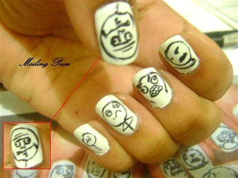 Nail Art Meme - meme nails nail art gallery