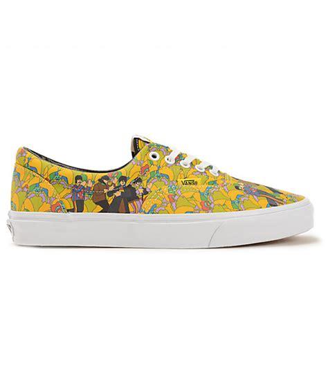 the beatles x vans era yellow submarine the garden skate
