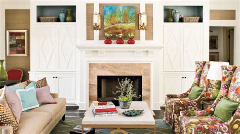 southern living fireplaces symmetrical fireplace 25 cozy ideas for fireplace mantels southern living