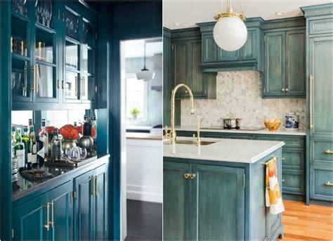 code couleur cuisine cuisine bleu turquoise relooker avec modernit une cuisine