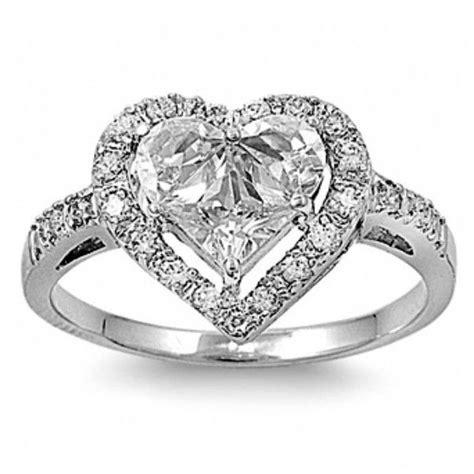 sandra s designer inspired heart shape engagement ring