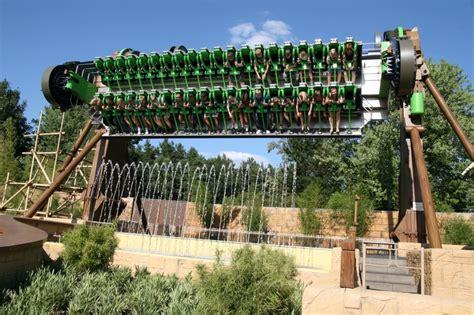 extreme theme park aqua spin heide park germany extreme amusement park