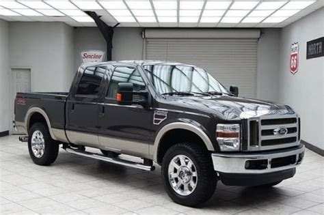 sell used 2009 ford f250 diesel 4x4 lariat heated leather 20s tailgate step texas in mansfield