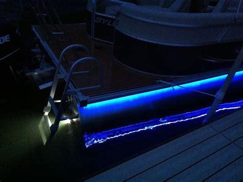 black lights for boats fishing at night pontoon deck boat magazine