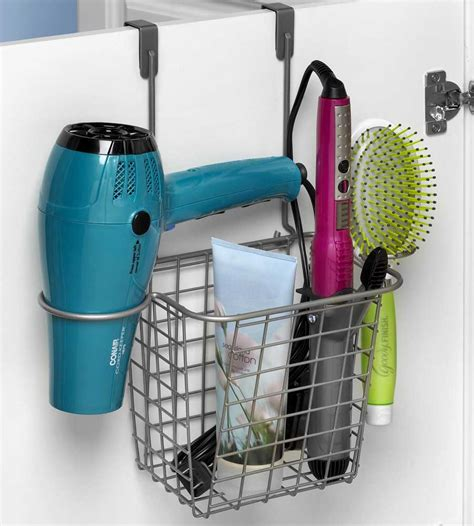 ace hardware ubud hair care rack in hair dryer holders organize it home