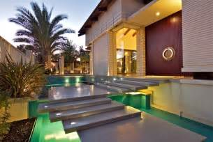 villa ideas villa entrance landscape with long steps google search