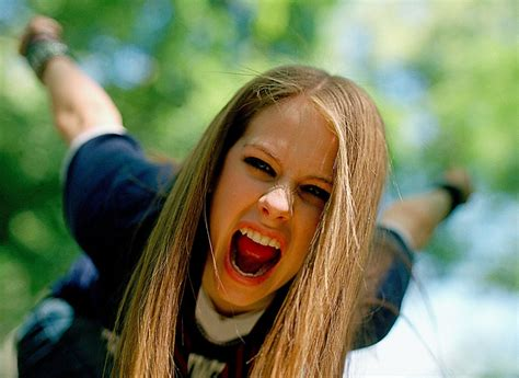 Avril Justifies Spitting On Photographers by The Wreck By Saurabh Kadam