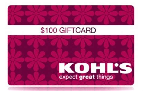 Kohls E Gift Card - 100 kohl s gift card giveaway the neighborhood moms