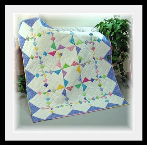 Baby Crib Quilt Patterns New Winds Crib Baby Quilt Pattern New