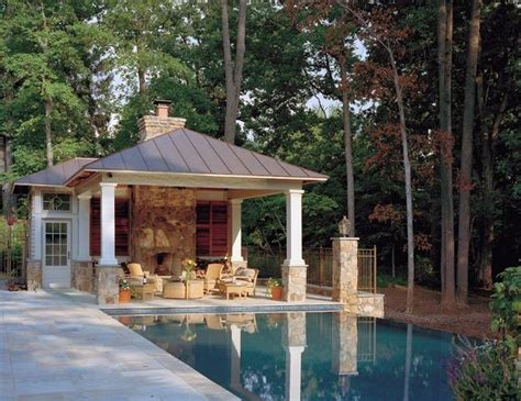 cool pool houses open and casual favorite places spaces pinterest