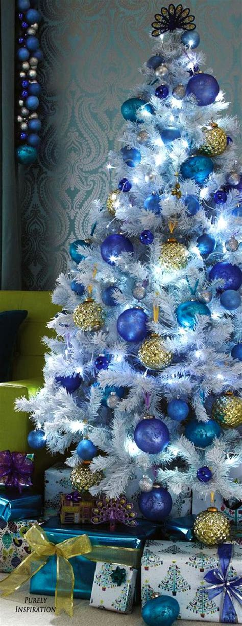 photos of blue christmas trees best 25 blue decor ideas on blue turquoise